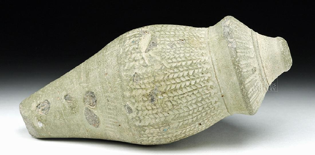 Unusual Byzantine Terracotta Hand Grenade - Greek Fire