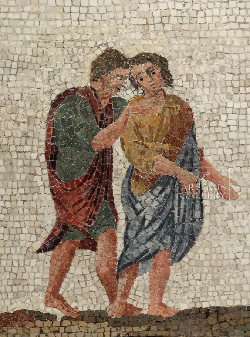 Roman Mosaic - Priestess Making Offering - 2