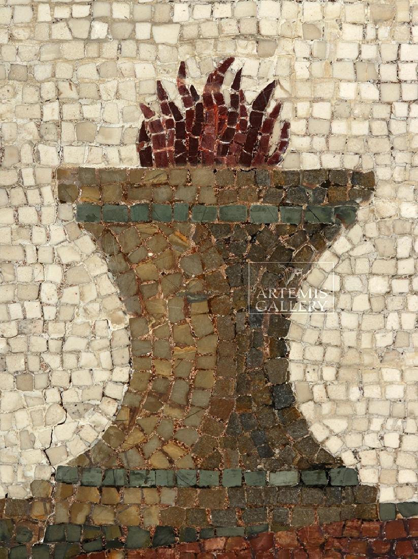 Roman Mosaic - Priestess Making Offering - 3