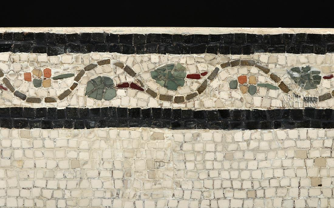 Roman Mosaic - Priestess Making Offering - 5