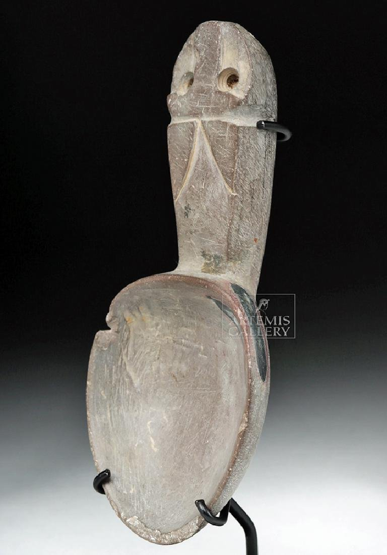 Chavin Stone Spoon with Jaguar - 2