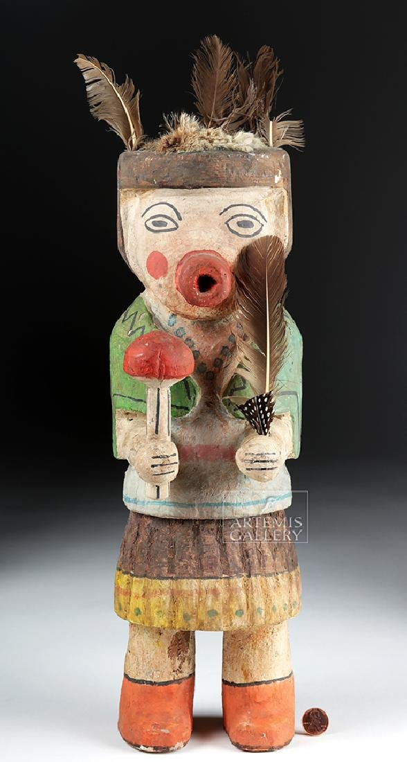 Early 20th C. Hopi Wooden Kachina Doll - Very Large - 2
