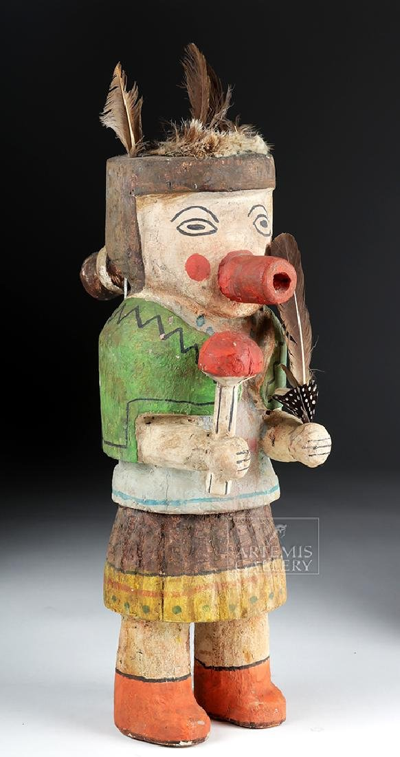 Early 20th C. Hopi Wooden Kachina Doll - Very Large - 3