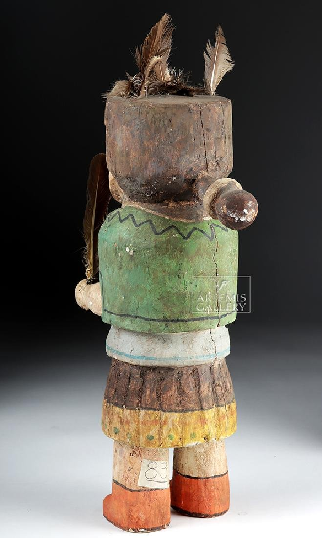 Early 20th C. Hopi Wooden Kachina Doll - Very Large - 4