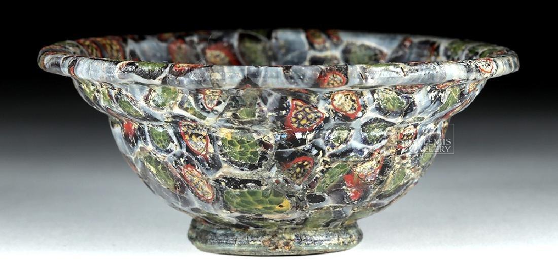 Rare / Important Roman Mosaic Glass Patella Cup - 8
