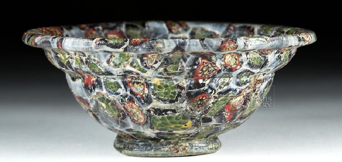 Rare / Important Roman Mosaic Glass Patella Cup - 9