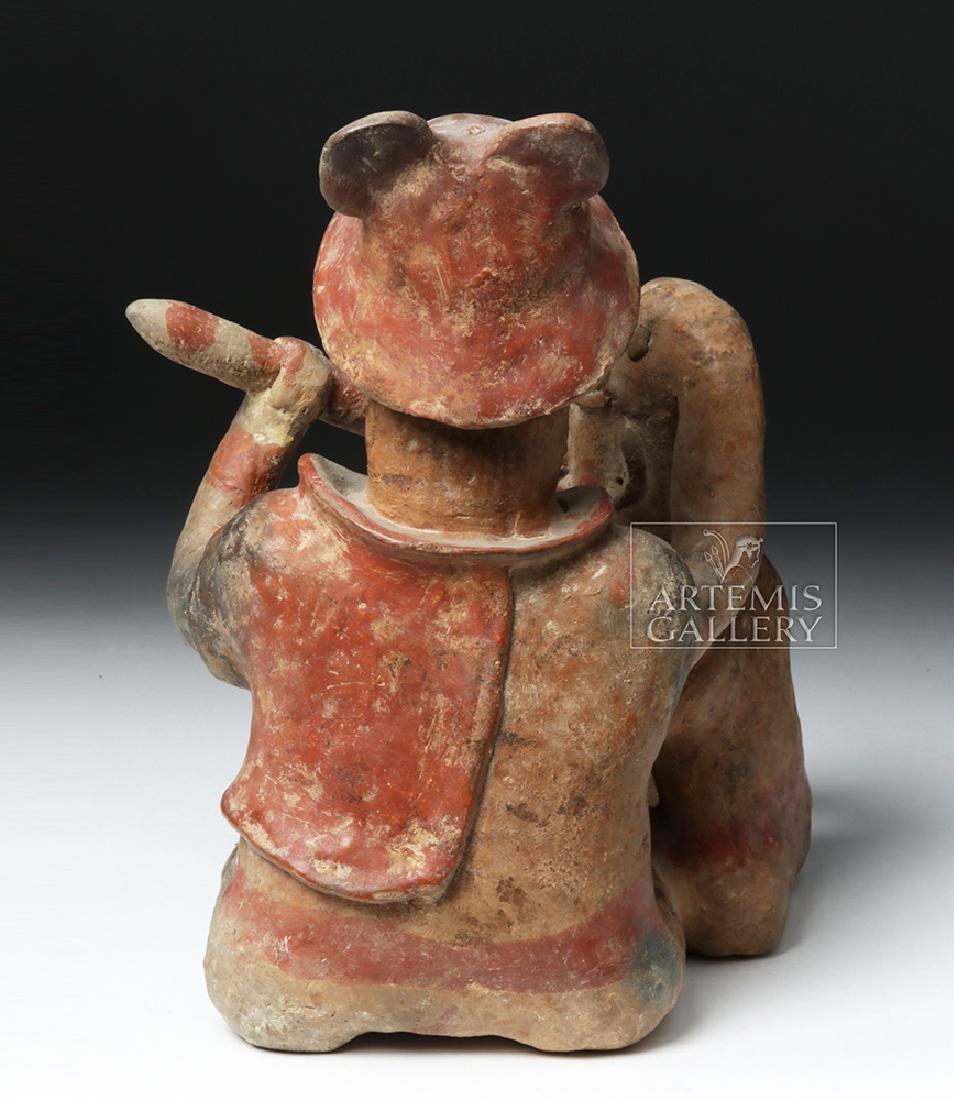 Rare Jalisco Pottery Warrior w/ Captive - 3