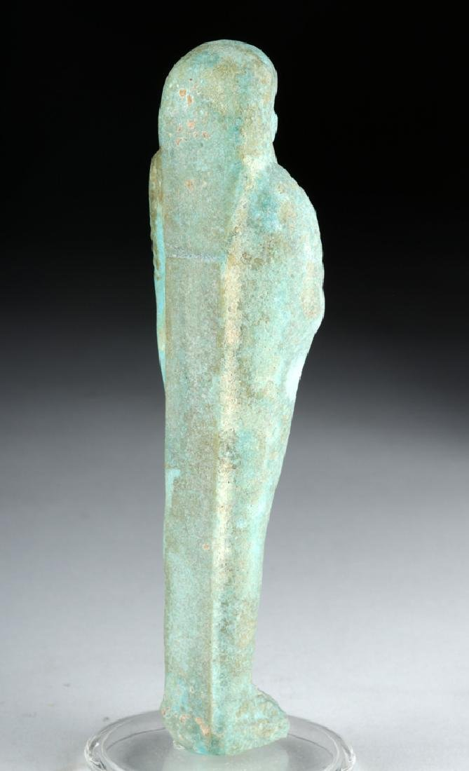 Egyptian Late Period Faience Ushabti - 5
