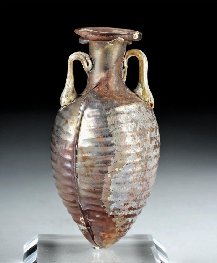 Choice Roman Sidonian Glass Amphoriskos, Ex-Christie's
