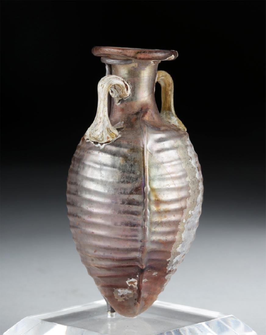 Choice Roman Sidonian Glass Amphoriskos, Ex-Christie's - 2