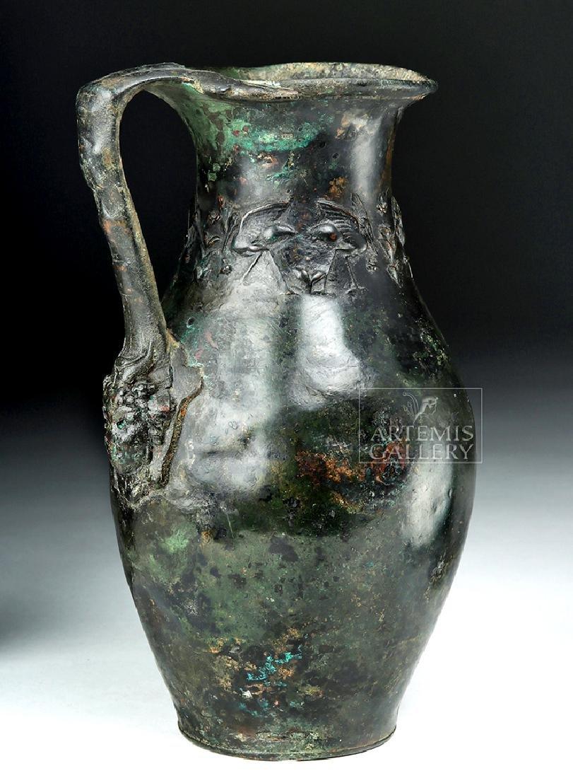 Rare and Wonderful Roman Bronze Ewer