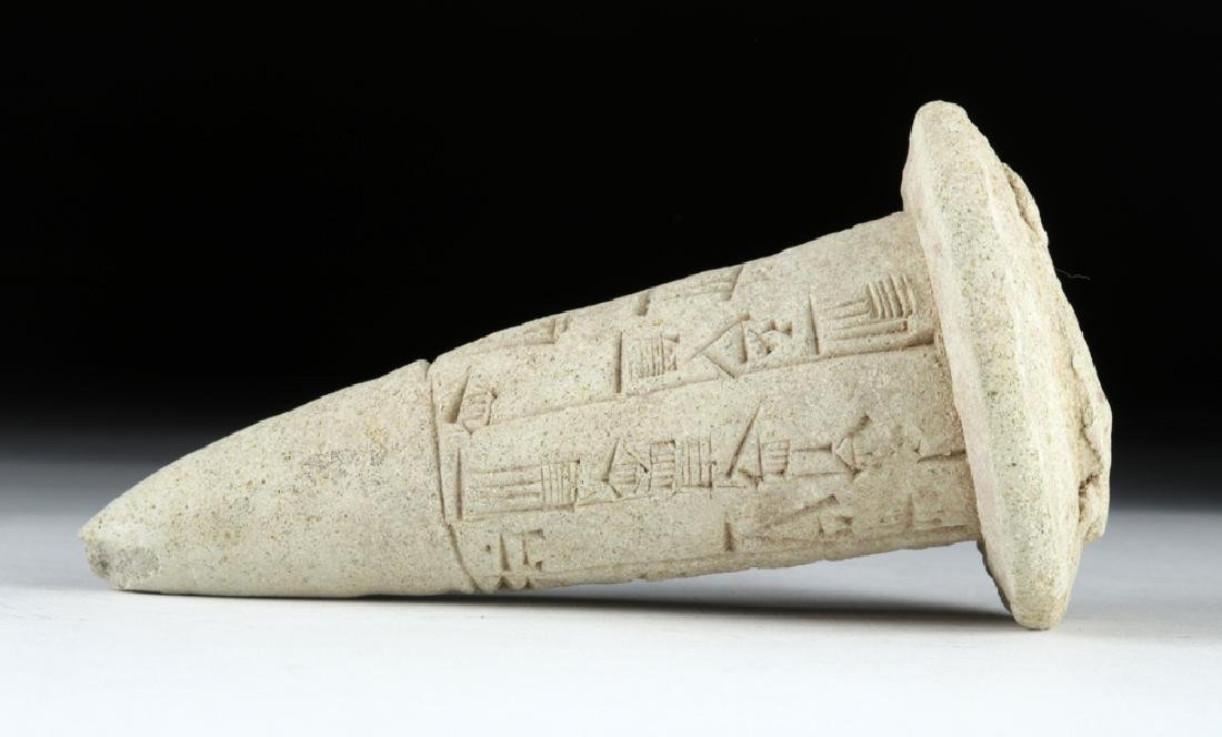 Sumerian Cuneiform Foundation Cone, ex-Bonhams - 2