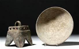 Jalisco Pottery Bowl  Incensario