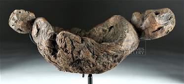 Late 19th C. Ifugao Wooden Shaman's Bowl - Very Rare!
