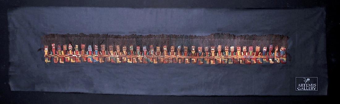 Proto Nazca Textile Panel - Munecas