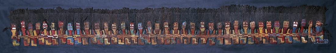 Proto Nazca Textile Panel - Munecas - 2