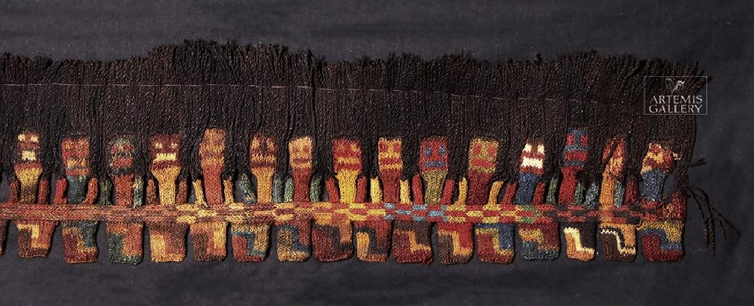 Proto Nazca Textile Panel - Munecas - 3