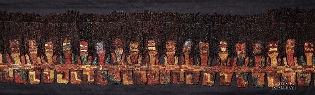 Proto Nazca Textile Panel - Munecas - 4