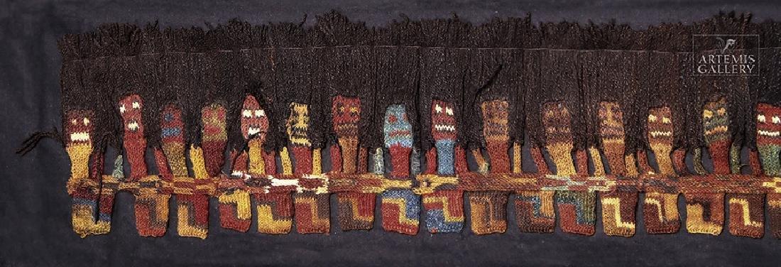 Proto Nazca Textile Panel - Munecas - 5