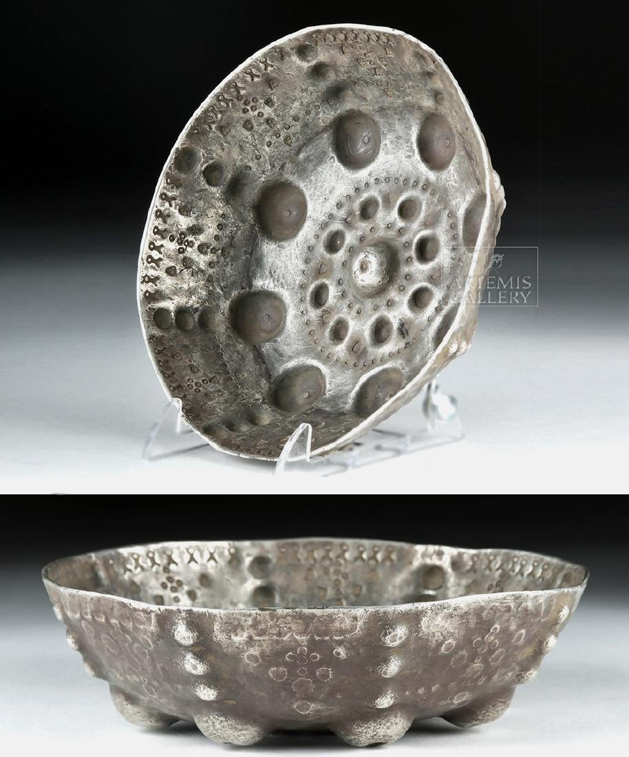 Important Viking Silver Ritual Bowl - 500 grams