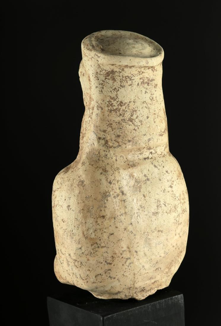 Large Archaic Greek Terracotta Votive Figure - 4