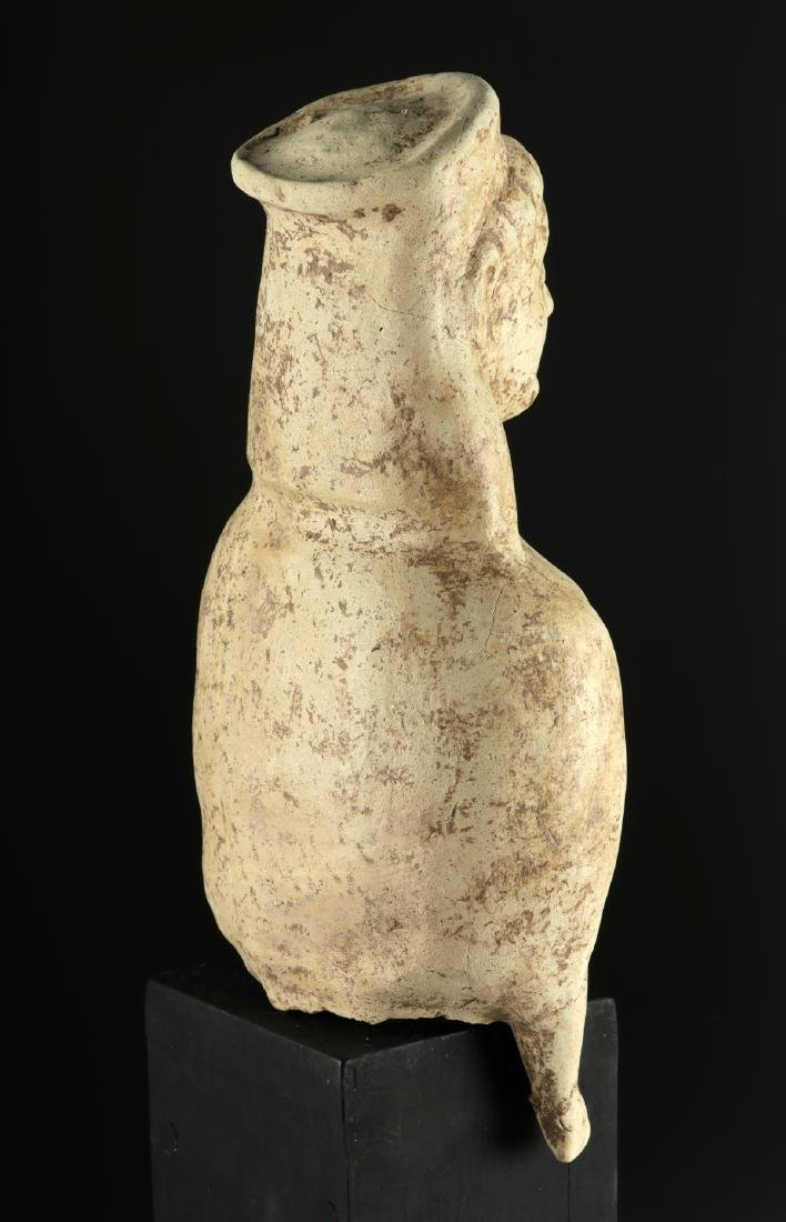Large Archaic Greek Terracotta Votive Figure - 5