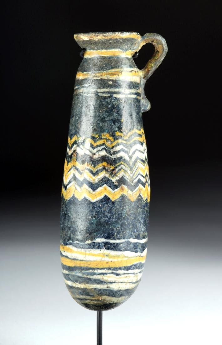 Greek Core-Formed Glass Alabastron