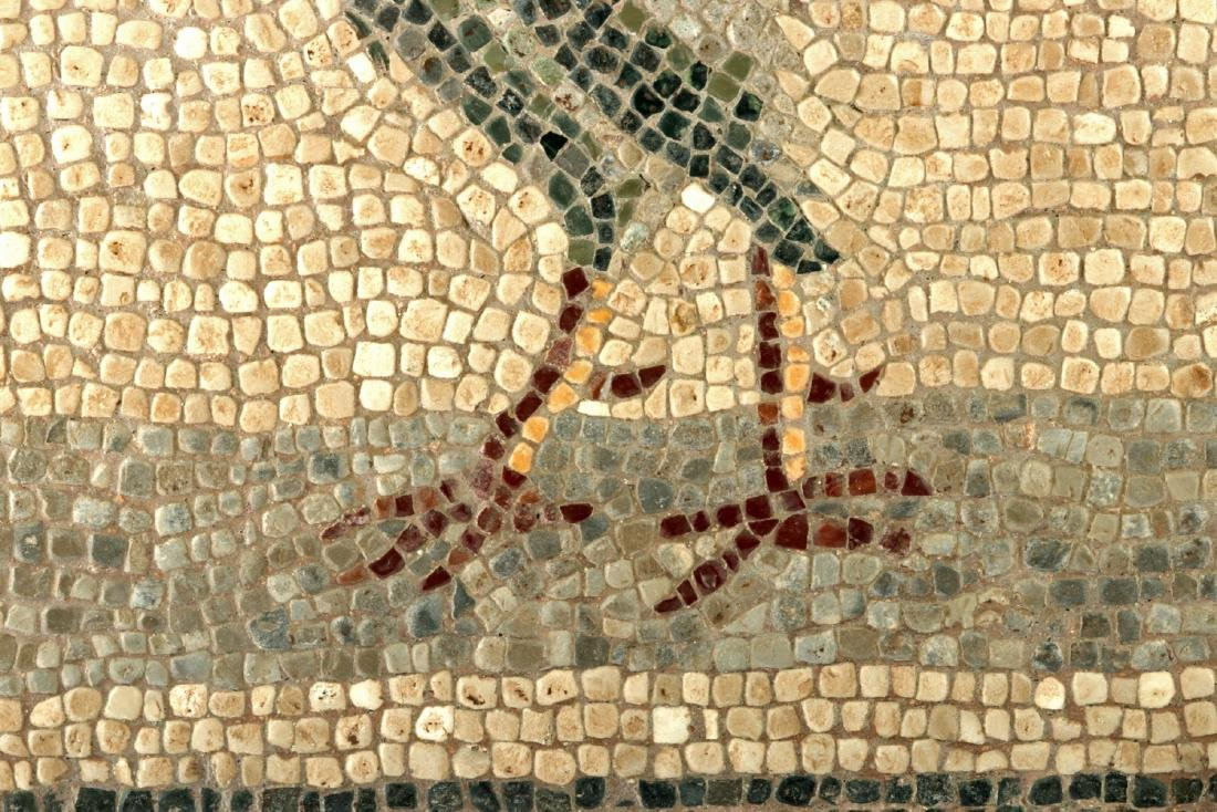 Incredible Lifelike Roman Mosaic of a Rooster - 3