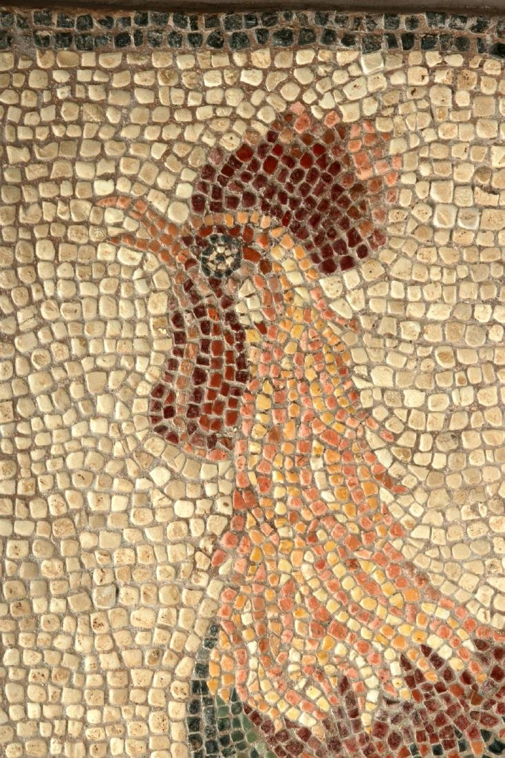 Incredible Lifelike Roman Mosaic of a Rooster - 4
