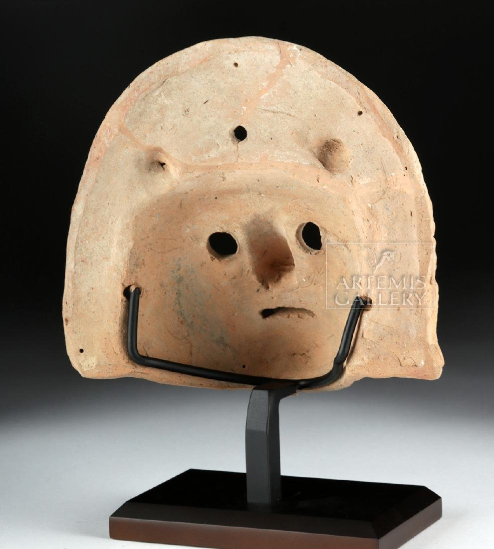 Roman Terracotta Actor's Mask w/ TL - 3