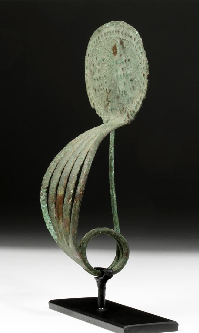 Large Italic Bronze Clasp Fibula - 3