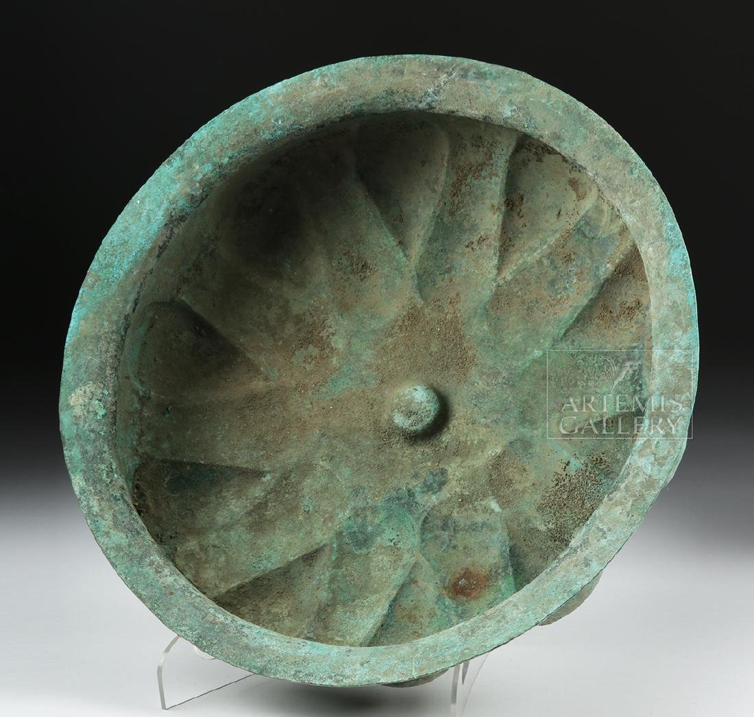 Huge Achaemenid Bronze Basin w/ Omphalos