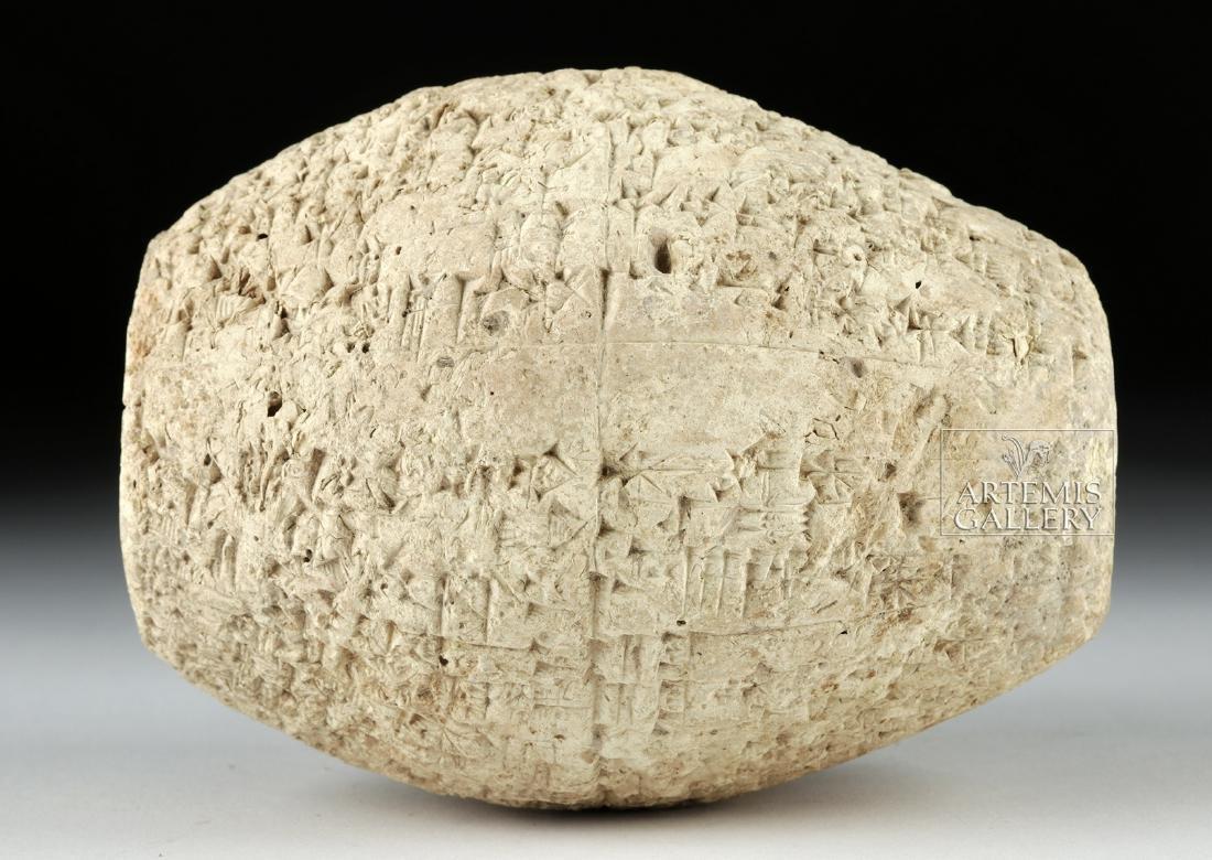 Published / Translated Babylonian Clay Barrel Cylinder - 3