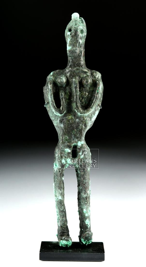 Canaanite Bronze Votive Figure - 2