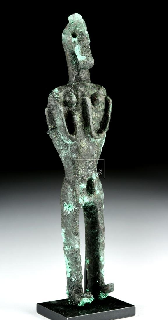 Canaanite Bronze Votive Figure - 3