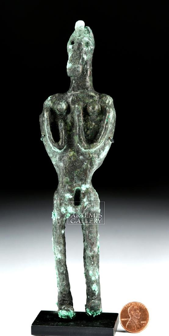 Canaanite Bronze Votive Figure - 6