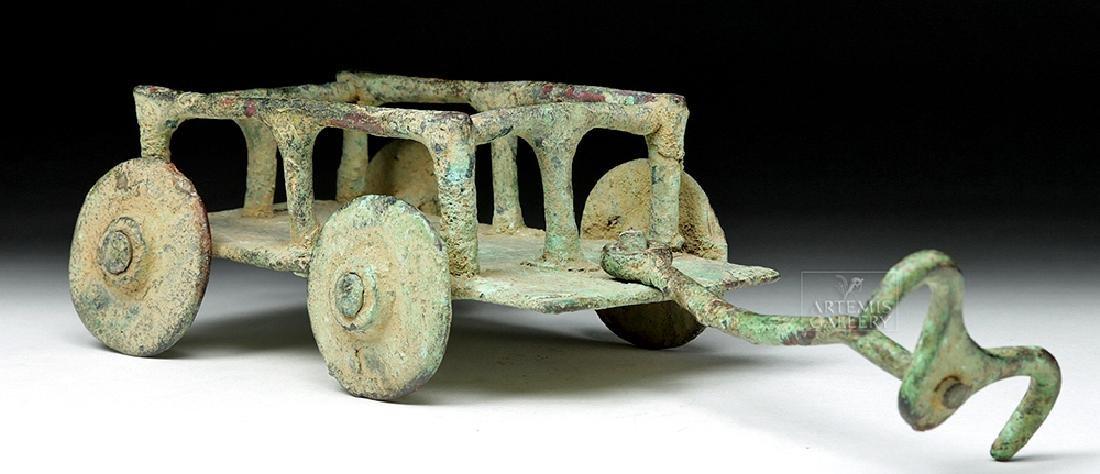 Rare Central Asian / BMAC Bronze Cart Model
