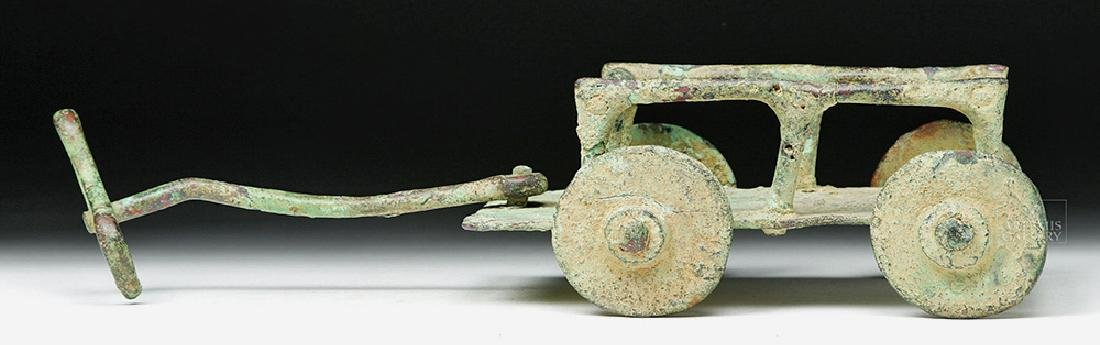 Rare Central Asian / BMAC Bronze Cart Model - 3