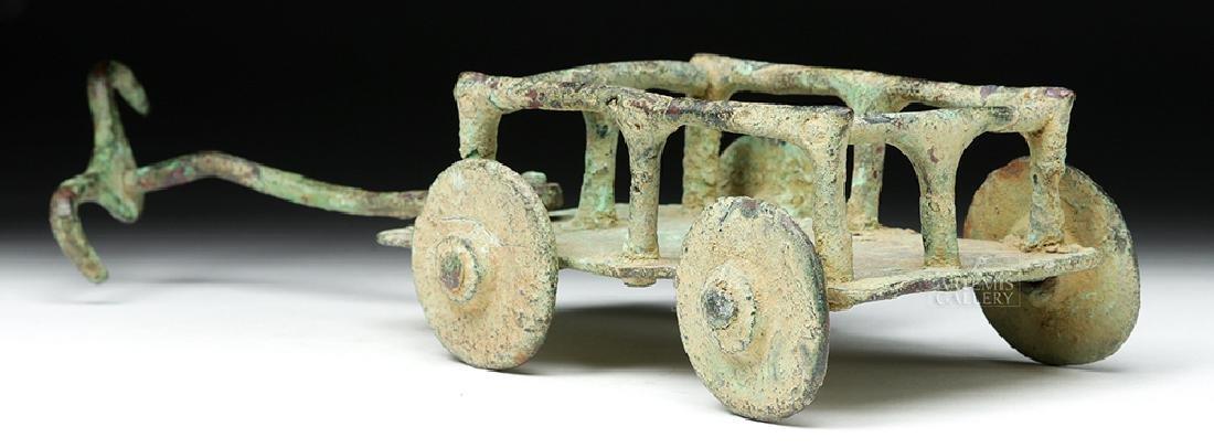 Rare Central Asian / BMAC Bronze Cart Model - 4