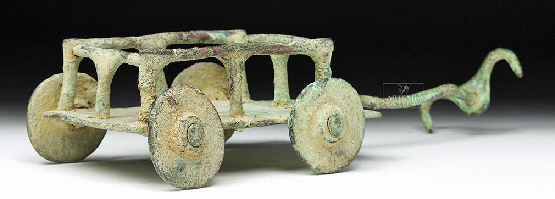 Rare Central Asian / BMAC Bronze Cart Model - 5