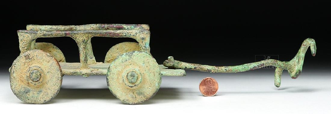 Rare Central Asian / BMAC Bronze Cart Model - 6