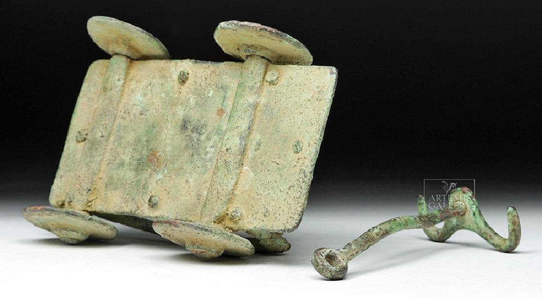 Rare Central Asian / BMAC Bronze Cart Model - 8