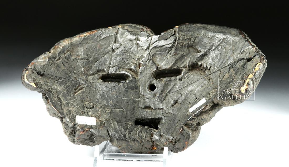 Early 20th C. Fine Nepalese Mushroom Mask - 4