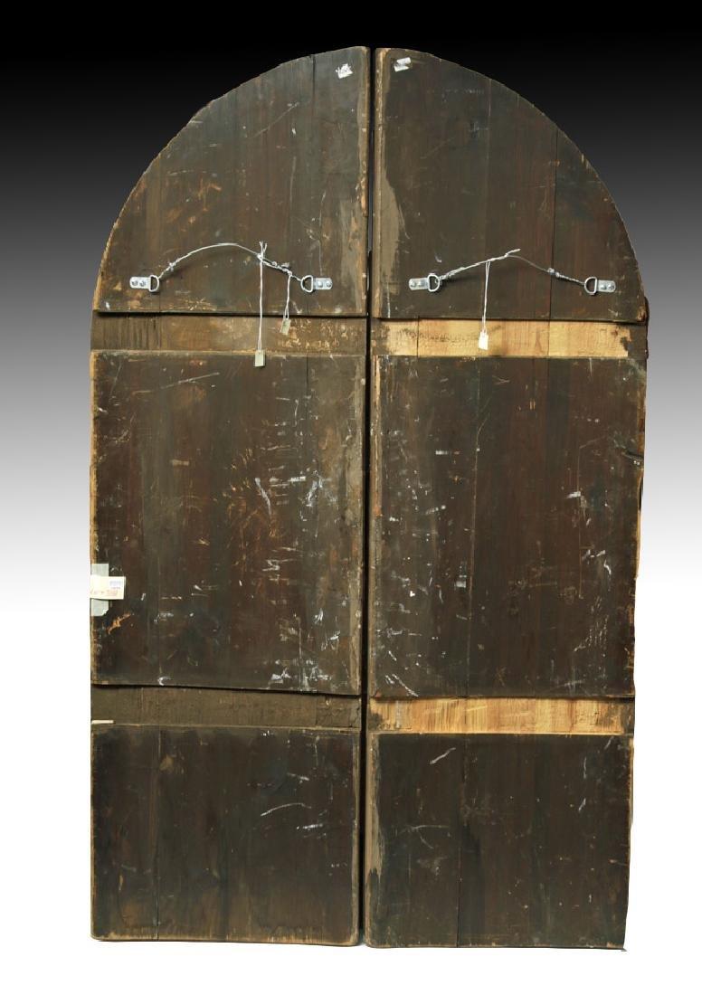 19th C. Russian Royal Door Panels, Museum-Exhibited - 10