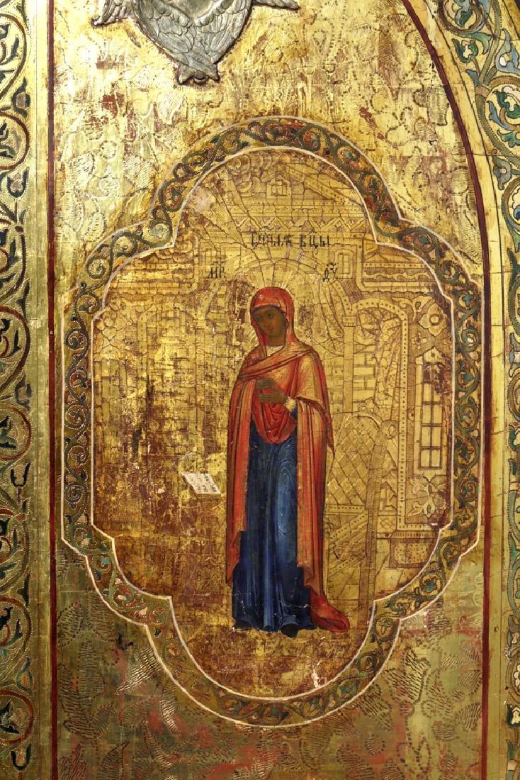 19th C. Russian Royal Door Panels, Museum-Exhibited - 7