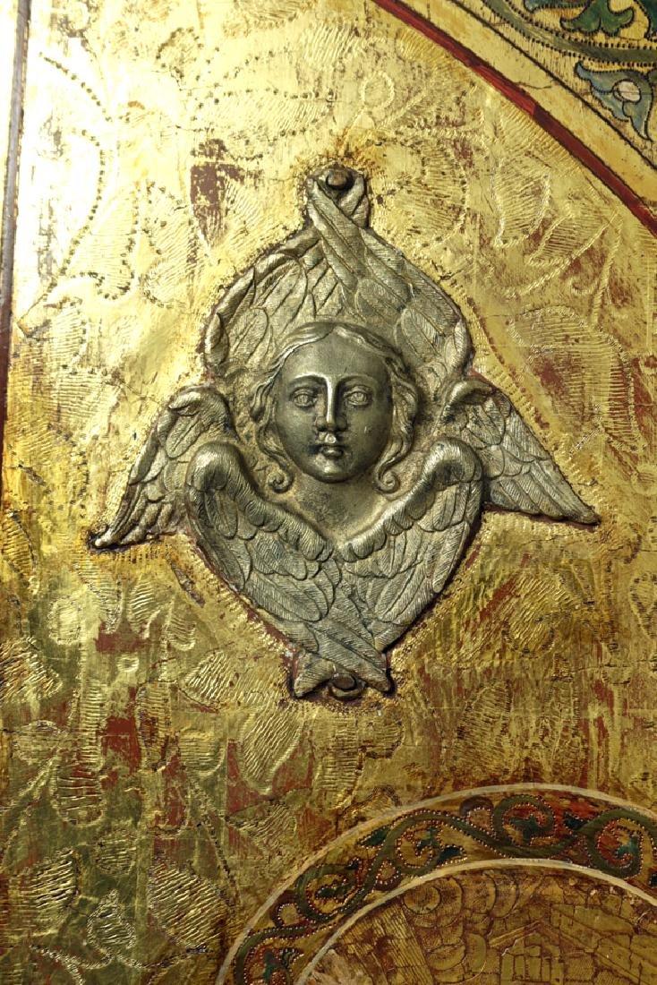 19th C. Russian Royal Door Panels, Museum-Exhibited - 8