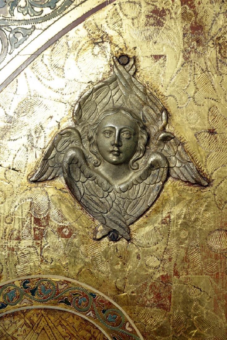 19th C. Russian Royal Door Panels, Museum-Exhibited - 9