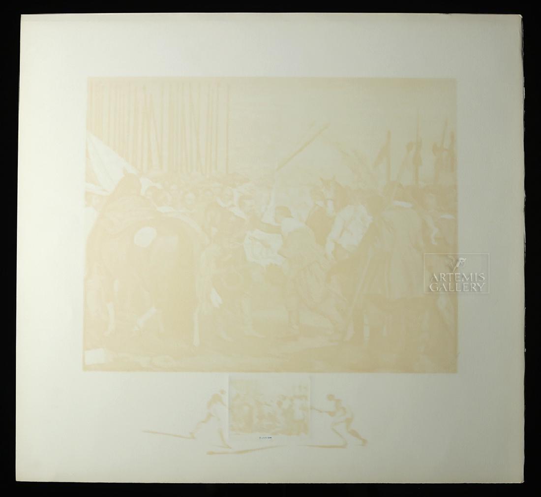 "Signed Dali ""Velasquez La Reddition de Breda"" - 1974 - 6"