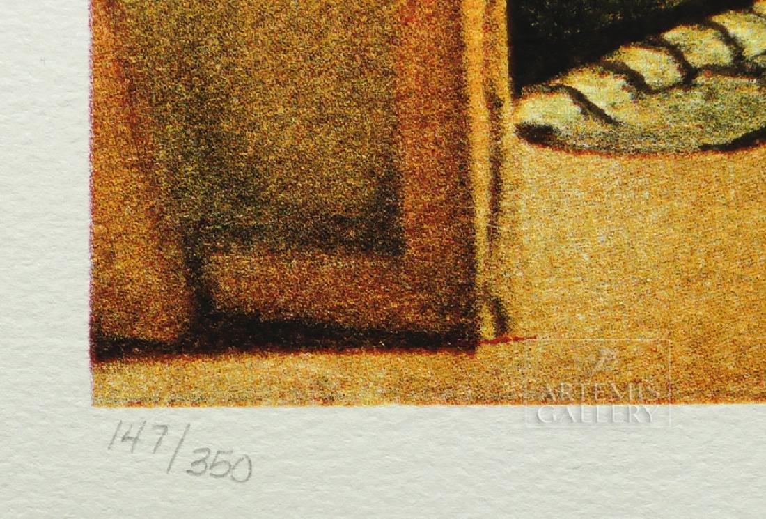"""Signed Dali Lithograph """"Velasquez Les Menines"""" - 1974 - 5"""