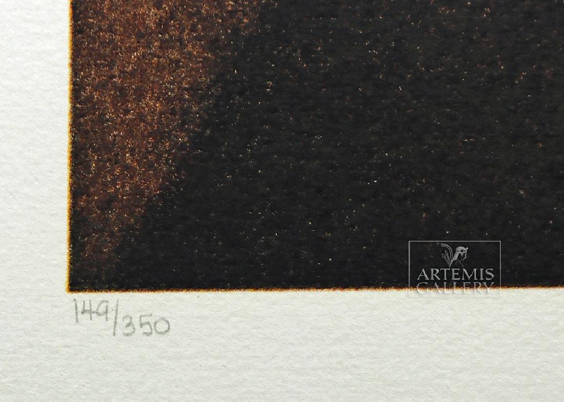 "Signed Dali Lithograph ""Rembrandt Portrait..."" 1974 - 5"